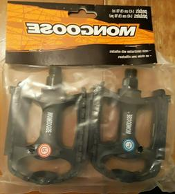 "Mongose Bike Pedals 9/16"" Pair for One Price"