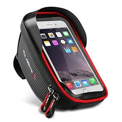 Bike Phone Mount Bag, Waterproof Universal Cycling Bicycle F