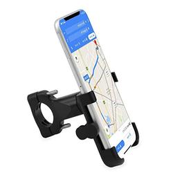 CHILDHOOD Universal Bike Phone Mount Bicycle Handlebar Cell Phone Holder Cradle Clamp with 360 Degree Rotation /& Anti-slip Design 4~6.5 inch Fit for Almost of Smart Phones