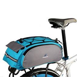 Bike Rear Rack Bag, 1Pcs Waterproof Bicycle Rack Carrier Bag