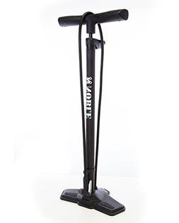 Digital Bike Tire Floor Pump with Digital PSI Gauge - Hose a