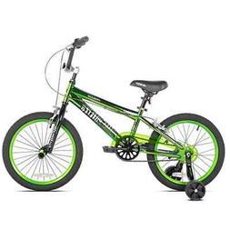 """Kent Bikes Avigo Incognito 18"""" Boys BMX Bike w/ Training Whe"""
