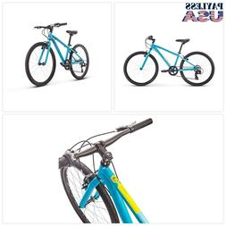 Raleigh Bikes Cadent 24 Kids Flat Bar Road Bike for Boys You