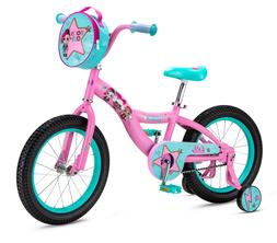Bikes For Girls LOL Surprise 16 In Bicycle Coaster Single Sp