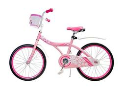 "Ryda Bikes Petal - 20"" Pink Little Girls Kids Bike with Bask"