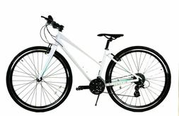 ZF Bikes Transit Women Hybrid Alloy Bike Double Butted Frame