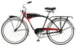 Schwinn Black Phantom Cruiser Bike, single speed, 26-inch wh