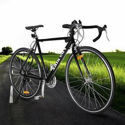 Black Shimano 700C 54cm Aluminum Road/Commuter Bike Racing B
