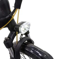 GGSN Blaze-Light Headlight 2 Led Fixed on Front Fork Bridge