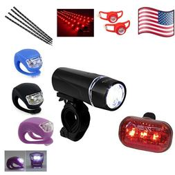Red Mens Bicycle Light Dirt Kids Mountain Safety Accessories