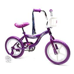 ChromeWheels Kids Bike for Girls with Training & EVA Wheels,