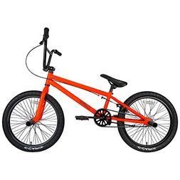 Capix BMX Bike 20 inch Wheel Freestyle, Bright Orange
