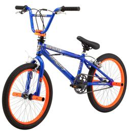 "Mongoose 20"" Boy's BMX Booster Boys Bike Blue Orange By Mong"