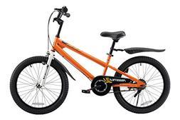 Royalbaby BMX Freestyle Kid's Bike, 20 inch Wheels, Orange