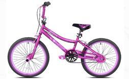 BMX Girl's Bike 20 Inch Satin Purple Kent Single Speed Hand