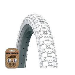 KENDA BMX / MX Style Cycle Tire  - Comp 3 Tread - FREE VALVE