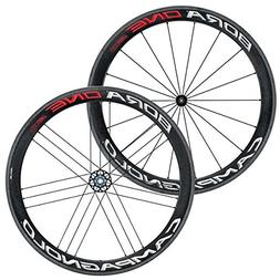 Campagnolo Bora One 50 Dark Tubular Bicycle Wheel Set - 700C
