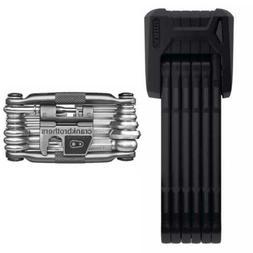 Abus Bordo Granit X Plus 6500/85cm  Folding Bike Lock and Cr