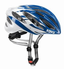 Uvex Unisex Boss Race Road Bike Helmet Blue & White Medium
