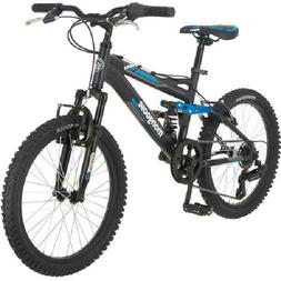 Mongoose Boys 20 Inch Ledge 2.1 Mountain Bike Bicycle with 2