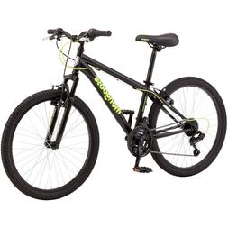 Mountain Bike For Boys 24 Inch Steel Frame Comfort Bicycle R