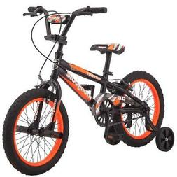 "16"" Mongoose Mutant Boys' Bike, Black Orange"