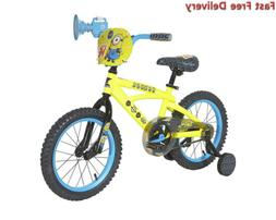 Minions Boys Dynacraft Bike, Yellow/Blue/Black, 16""