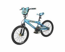 BOYS Girls 20 inch BLUE BMX BICYCLE Brakes Youth Kids Bike w