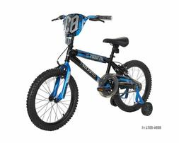 "Dynacraft Boys Nitrous Bike, Black/Blue, 18"", Black/Blue"