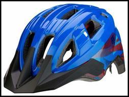 Mongoose Boys Zone Helmet BLUE Lines
