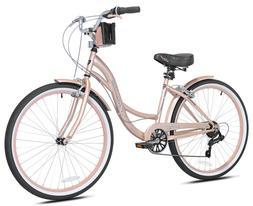 """✅BRAND NEW✅ Kent 26"""" Bayside Women's Cruiser Bike Rose G"""