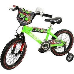 "Brand ""NEW"" Dynacraft Hot Wheels Boy's 16-Inch Bike Green"