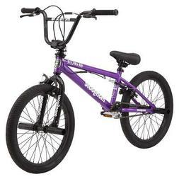 brawler bmx freestyle bike 20 wheels purple