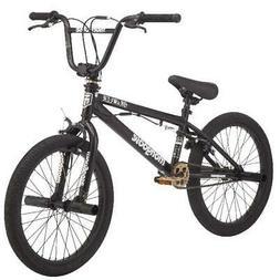 Mongoose BRAWLER Boys BMX Bike, Steel freestyle frame, Singl