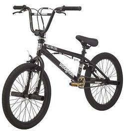 Mongoose BRAWLER Freestyle BMX Bike, 20-inch wheels, pegs, b