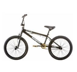 "🔥Mongoose BRAWLER Freestyle BMX Bike, 20"" wheels, pegs, B"