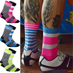 Breathable Cycling Socks Unisex Road Mountain Bike Sport Soc