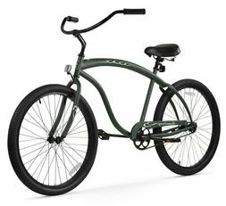 Firmstrong Bruiser Man Beach Cruiser Bicycle, 26-Inch