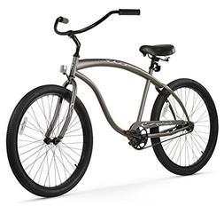 Firmstrong Bruiser Man Single Speed Beach Cruiser Bicycle, 2