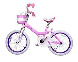 Bunny Girl's Bike Pink 14 inch Kid's bicycle