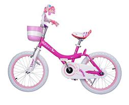 Bunny Girl's Bike Fushcia 14 inch Kid's bicycle