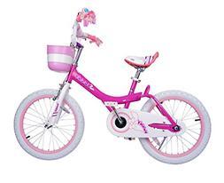 Bunny Girl's Bike Fushcia 16 inch Kid's bicycle