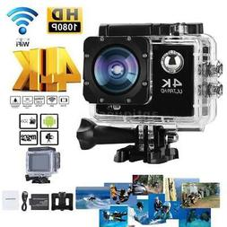 CamTRAX-4K-1080HD Action Cam- Waterproof Case-Carry case- 32