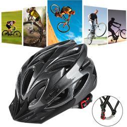 Carbon Bicycle Cycling MTB Skate Helmet Mountain Adult Bike