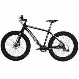 "BEIOU Full Carbon Fat Tire Bicycle Fat Bike 26"" 4.5"" Tire SH"