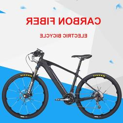 Carbon fiber electric mountain bicycle 27.5inch <font><b>Hyb