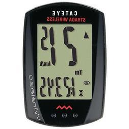 CAT EYE - Strada Wireless Bike Computer, Black
