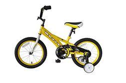 "Titan Champion Deluxe Boys BMX Bike with 16"" Wheels, Trainin"