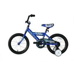 "Titan Champion Deluxe Boys BMX Bike with 16"" Wheels, Trainin"