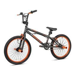 Kent Chaos 20 inch Bike for Boys - Matte Gray/Orange